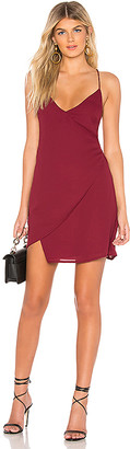 superdown Aiden Wrap Mini Dress