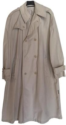 Valentino Beige Cotton Trench Coat for Women Vintage