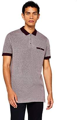 find. Men's Contrast Collar Polo Shirt,XX-Large