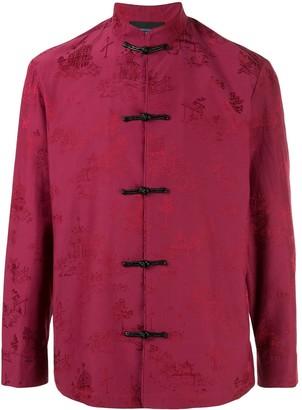 Shanghai Tang chinoiseries jacquard Tang jacket
