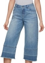 JLO by Jennifer Lopez Women's Release Hem Cropped Jeans