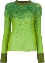 Jean Paul Gaultier Vintage long sleeve glitter top