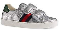 Gucci Girl's Glitter Sneakers