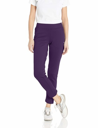Cutter & Buck Women's Moisture Wicking Double Knit Stretch Interval Pull on Pant