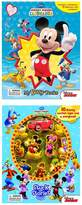 Disney Mickey Clubhouse 2 Book Bundle - My Busy Book & Stuck On Stories