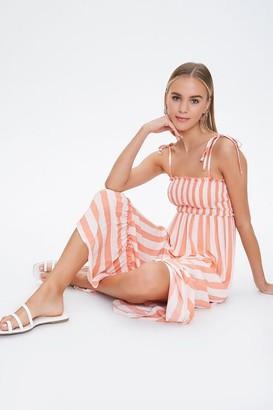 Forever 21 Striped Cami Maxi Dress