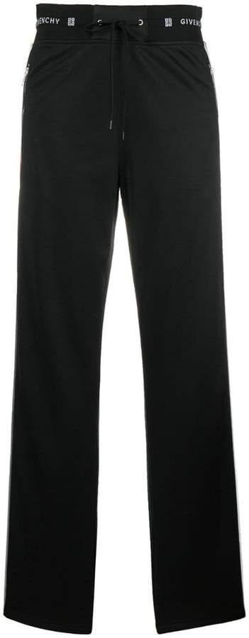 Givenchy sidebands track pants