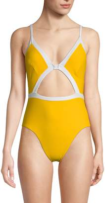 Dolce Vita One-Piece Keyhole Front Swimsuit