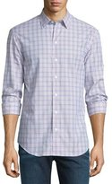 Armani Collezioni Plaid Long-Sleeve Sport Shirt, Multi