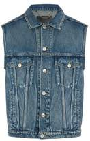 Balenciaga Button-through Denim Gilet