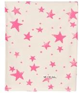 Noe & Zoe Berlin Pink Star Print Baby Blanket
