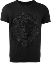 Versus lion head T-shirt - men - Cotton - S