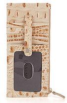 Brahmin Melbourne Collection Embossed Credit Card Wallet