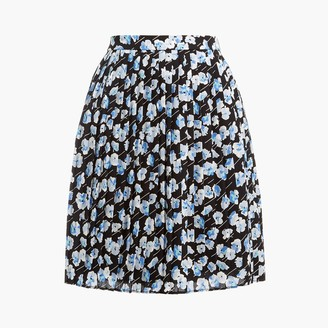 J.Crew Pleated mini skirt