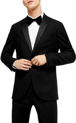Topman Corey Slim Fit Tuxedo Jacket