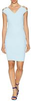 Milly Italian Peek-A-Boo Sheath Dress