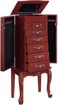 Asstd National Brand Red Jewelry Armoire