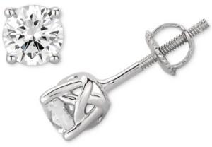 Macy's Gia Certified Diamond Stud Earrings (1 ct. t.w.) Stud Earrings in 14k White Gold