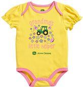 John Deere Baby Girl Tractor Bodysuit
