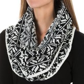 Chaos Snaps Knit Infinity Scarf (For Women)