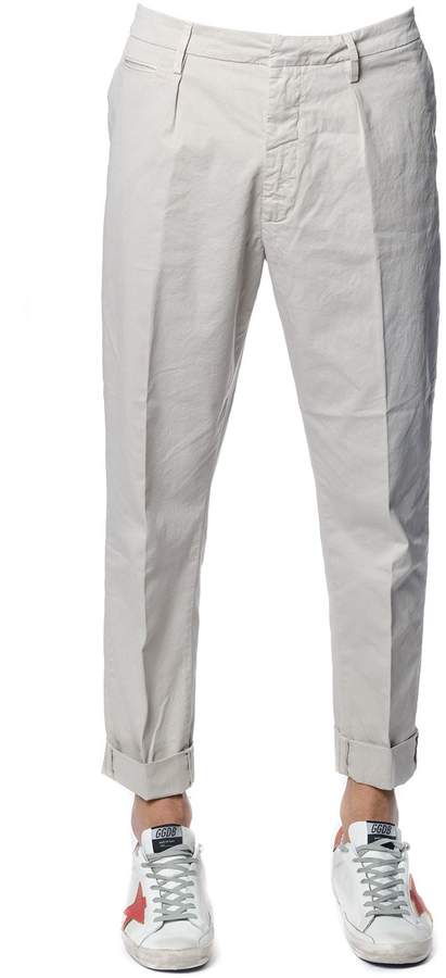 Dondup Frankie Ice Cotton Trousers