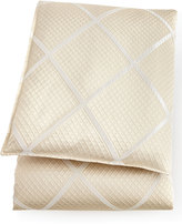 Isabella Collection Queen Brenner Lattice Duvet Cover