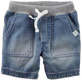Carter's Baby Boy Drawstring Denim Shorts
