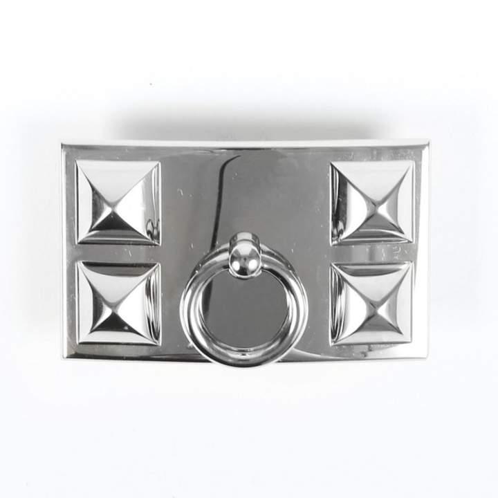 Hermes Boucle seule / Belt buckle Silver Metal Belts