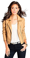 GUESS Juniors' Carly Faux Leather Jacket