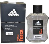 adidas M-T-1681 Team Force by for Men - 3.4 oz EDT Spray - Tester