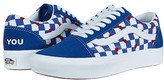 Vans x Autism Awareness Sneaker Collection Heart/True Blue (Comfycush Old Skool x Autism Awareness)) Athletic Shoes