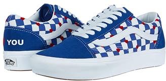 Vans x Autism Awareness Sneaker Collection Heart/True Blue (Comfycush Old Skool x Autism Awareness)) Athletic Shoes