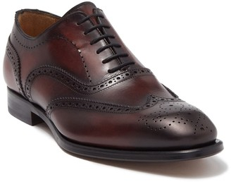 Antonio Maurizi Leather Medallion Wingtip Oxford