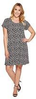 Karen Kane Women's Plus Size Print Maggie Trapeze Dress