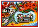 "Disney Toys Rug 2017 HD Edition CARS 3 (2'7""x3'8"") Gray & Brown"