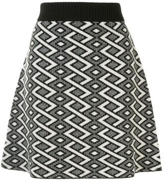 See by Chloe Jacquard Knit Mini Skirt