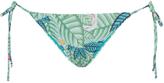 Mara Hoffman Leaf-print side-tie bikini briefs