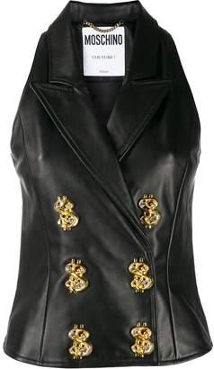 Moschino double-breasted waistcoat jacket