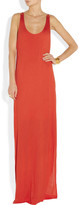 By Malene Birger Citrona racer-back jersey maxi dress