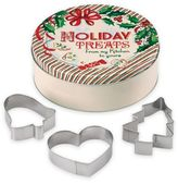 """Lenox Home for the HolidaysTM 4-Piece """"Holiday Treats"""" Tin and Cookie Cutters Set"""
