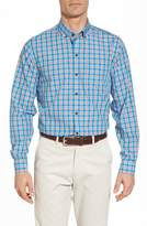 Cutter & Buck Landon Classic Fit Non-Iron Plaid Sport Shirt
