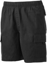 Mens Elastic Waist Cargo Shorts - ShopStyle