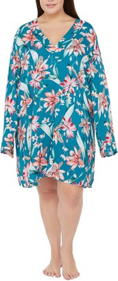 La Blanca Flyaway Orchid Cover-Up Tunic