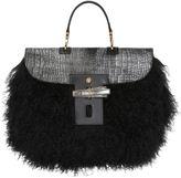 Trussardi Ponyskin & Mongolian Fur Bag For Lvr
