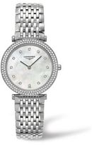 Longines La Grande Classique Diamond, Mother-Of-Pearl & Stainless Steel Watch