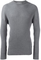 Ami Alexandre Mattiussi oversize crew neck sweater - men - Wool - XS