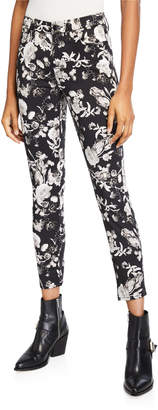 7 For All Mankind Jen7 by Printed Ankle Skinny Jeans