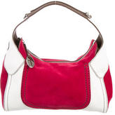Tod's Tri-Color Suede Hobo
