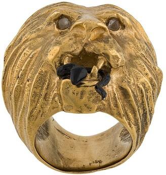 Goossens x Harumi Klossowska de Rola lion and snake ring
