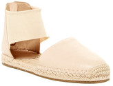 Eileen Fisher Coy Tumbled Leather Flat Sandal